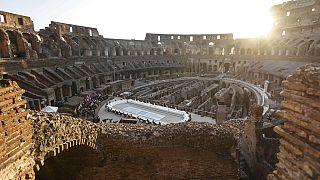 Kultur im Kolosseum - G20-Gipfel in Rom