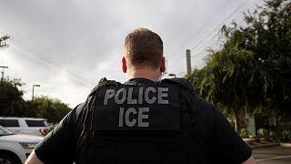مامور سازمان مهاجرت و گمرک آمریکا