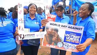 Survivors' tales on human trafficking day in Nigeria