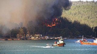 Domato l'incendio nella centrale elettrica, ma la Turchia brucia ancora