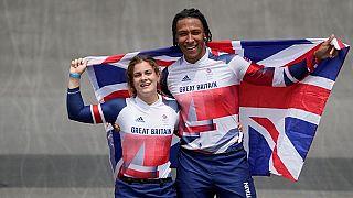 La britannica Bethany Shriever ha vinto l'oro nella gara di BMX femminile mentre Kye Whyte ha vinto l'argento nella gara maschile
