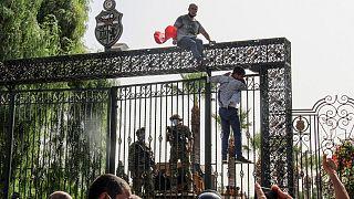اعتراضات در تونس
