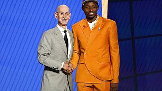 NBA : le Congolais Jonathan Kuminga drafté par les Golden State Warriors