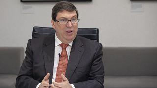 وزير الخارجية الكوبي، برونو رودريغيز