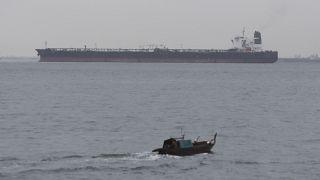 ناقلة نفطية قبالة الشواطئ الإندونيسية (أرشيف)