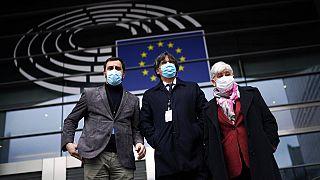Le Parlement européen a voté le 9 mars la levée de l'immunité des trois eurodéputés indépendantistes catalans à une large majorité.