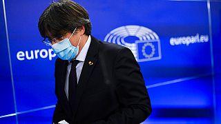 Carles Puigdemont in Brüssel - ARCHIV