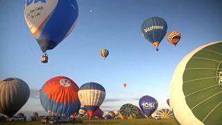 Heißluftballons in Lothringen