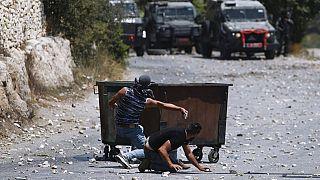 اشتباكات بين الفلسطينيين وقوات الأمن الإسرائيلية بالضفة الغربية، 29 تموز / يوليو، 2020