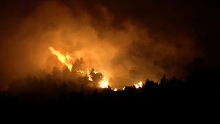 Incendios cerca de Palermo