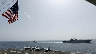 بوارج عسكرية تابعة للبحرية الأمريكية