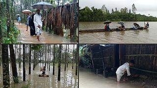الفيضانات في بنغلادش