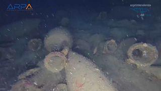 Akdeniz'de milattan önce ikinci yüzyıla ait gemi kalıntısı bulundu
