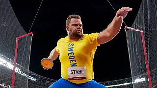 Le grand favori Daniel Stahl, champion du monde en titre, est devenu champion olympique du lancer du disque pour la première fois de sa carrière.