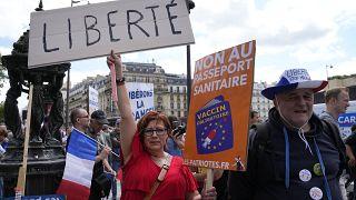Kundgebung in Paris