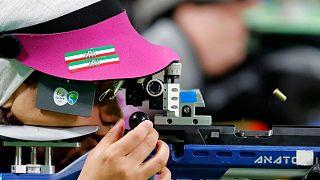 نجمه خدمتی در مسابقات المپیک ریو