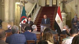 Rencontre entre les ministres des affaires étrangères algérien et égyptien