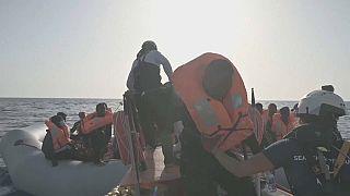 196 migrants secourus au large des côtes libyennes par l'Ocean Viking
