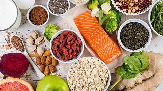 برخی مواد غذایی مناسب یک رژیم سالم
