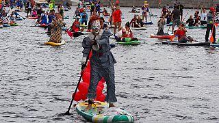 Il Sup Festival di San Pietroburgo, un carnevale tra i canali