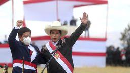 Contestação a Castillo nas ruas de Lima