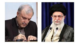 سعید نمکی و علی خامنهای