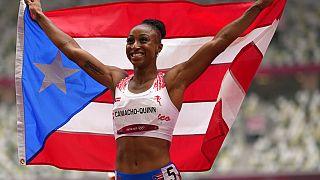 Jasmine Camacho-Quinn aus Puerto Rico