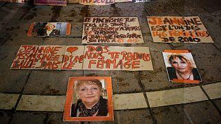 یادبود زنان قربانی خشونت خانگی در فرانسه