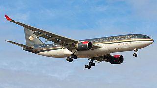 طائرة تابعة للخطوط الملكية الأردنية