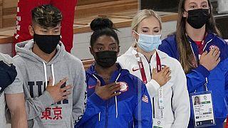 Токио: гимнастка Симона Байлз выступит в финале соревнований на бревне
