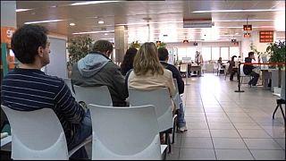 Taxa de desemprego na zona euro desce em junho
