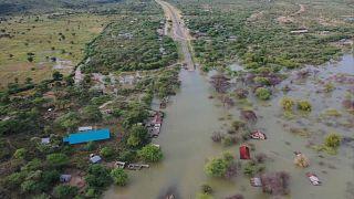 montée des eaux au Burundi