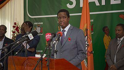 Zambie : le president Edgar Lungu déploie l'armée avant le scrutin