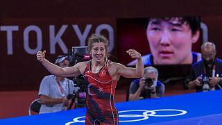 Yasemin Ada, olimpiyatlarda üçüncü olarak Bronz madalya kazandı