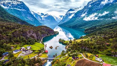 Norway is the leading country in renewable energy usage in the world