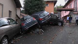 Áradás és földcsuszamlás Olaszországban