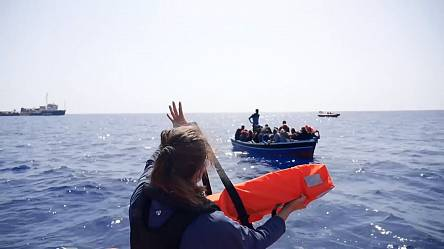 Dozens of migrants rescued in Mediterranean