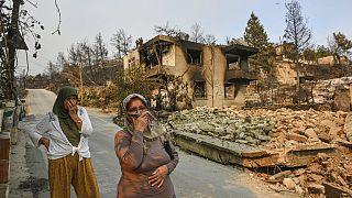 Schock über Waldbrände in der Türkei