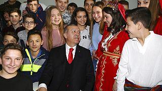 Φωτογραφία από την επίσκεψη Ερντογάν στην Κομοτηνή το 2017