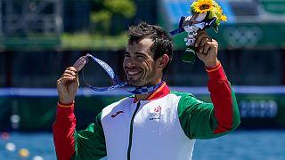 Canoísta português conquistou a medalha de bronze em K1 1000m