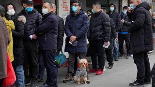 ووهان ، الصين، الثلاثاء 26 يناير 2021.