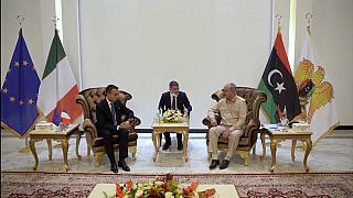 Luigi di Maio in Libia, 2 agosto 2021