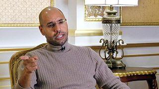 Libya'nın devrik lideri Muammer Kaddafi'nin oğlu Seyfülislam Kaddafi