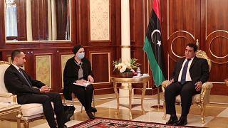 Der italienische Außenminister Luigi Di Maio führte zum 5. Mal in 2021 Spitzengespräche in Libyen