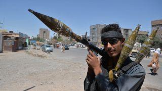 یک سرباز در شهر هرات