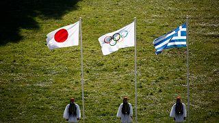 2020 Tokyo Olimpiyat Oyunları'nın meşalesi, antik olimpiyatların doğum yeri olan Yunanistan'da yakılmıştı