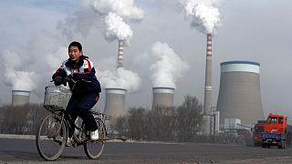 نیروگاه زغال سنگی در چین