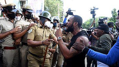 Inde : manifestations après la mort en garde à vue d'un Congolais