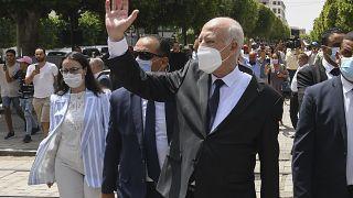 Präsident Kais Saied