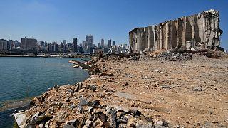 بقایای انفجار بیروت